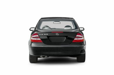 Rear Profile  2003 Mercedes-Benz CLK320