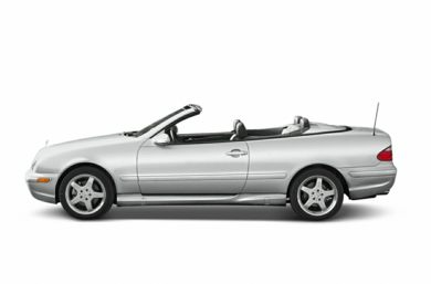 90 Degree Profile 2003 Mercedes-Benz CLK430