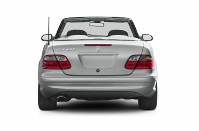 Rear Profile  2003 Mercedes-Benz CLK430