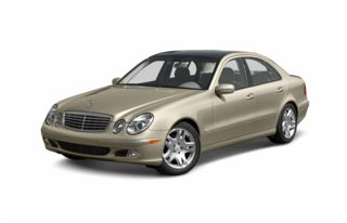 3/4 Front Glamour 2003 Mercedes-Benz E500