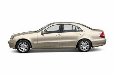 90 Degree Profile 2003 Mercedes-Benz E500