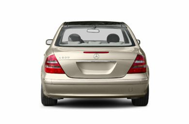 Rear Profile  2003 Mercedes-Benz E500
