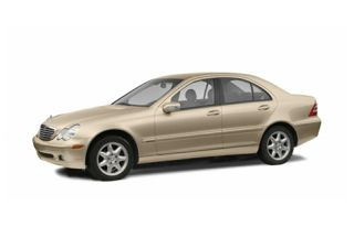 3/4 Front Glamour 2003 Mercedes-Benz C230