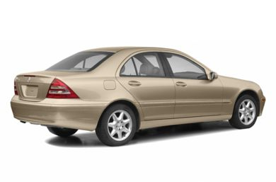 3/4 Rear Glamour  2003 Mercedes-Benz C230