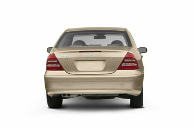 Rear Profile  2003 Mercedes-Benz C230