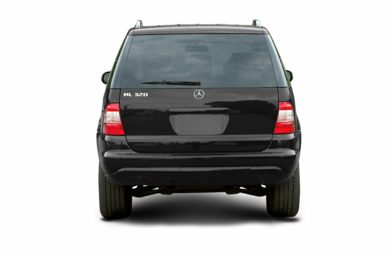 Rear Profile  2003 Mercedes-Benz ML500
