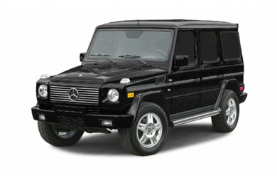 3/4 Front Glamour 2003 Mercedes-Benz G500
