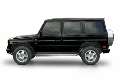 90 Degree Profile 2003 Mercedes-Benz G500
