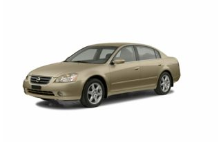 3/4 Front Glamour 2003 Nissan Altima