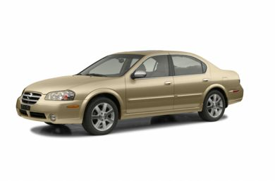 3/4 Front Glamour 2003 Nissan Maxima