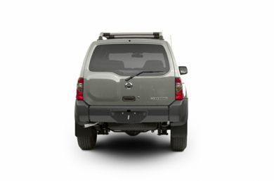Rear Profile  2003 Nissan Xterra