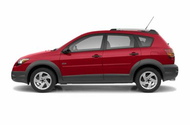 90 Degree Profile 2003 Pontiac Vibe