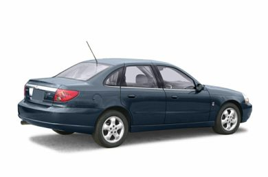 3/4 Rear Glamour  2003 Saturn L-Series