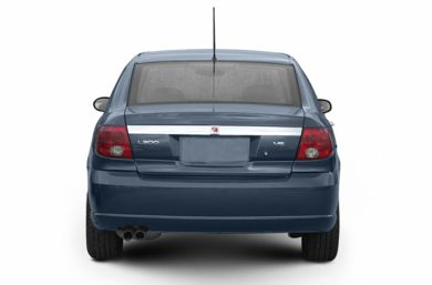 Rear Profile  2003 Saturn L-Series