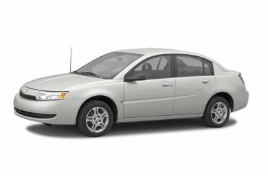 3/4 Front Glamour 2003 Saturn ION