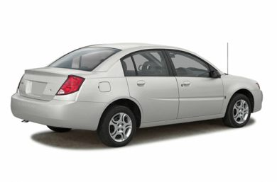 3/4 Rear Glamour  2003 Saturn ION