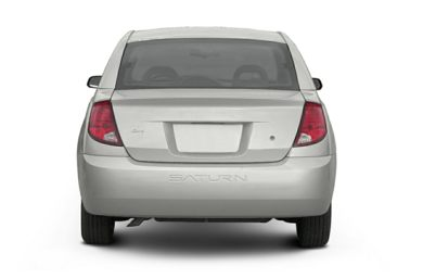 Rear Profile  2003 Saturn ION