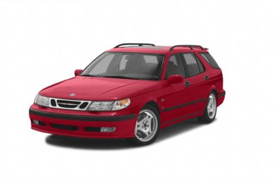 3/4 Front Glamour 2003 Saab 9-5