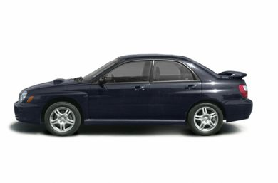 90 Degree Profile 2003 Subaru Impreza WRX