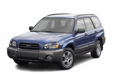 3/4 Front Glamour 2003 Subaru Forester