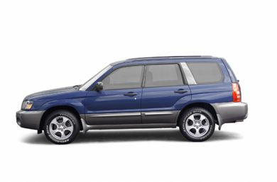 90 Degree Profile 2003 Subaru Forester