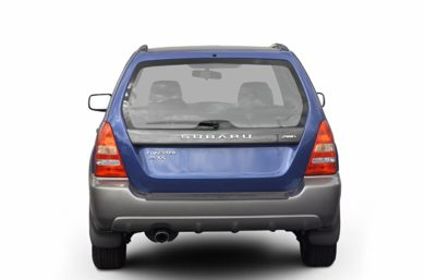 Rear Profile  2003 Subaru Forester