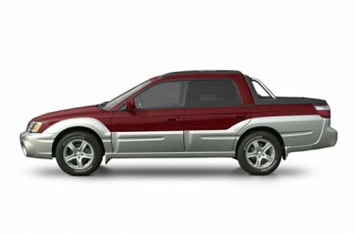 90 Degree Profile 2003 Subaru Baja