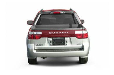 Rear Profile  2003 Subaru Baja