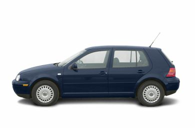 90 Degree Profile 2003 Volkswagen Golf