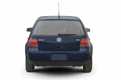 Rear Profile  2003 Volkswagen Golf