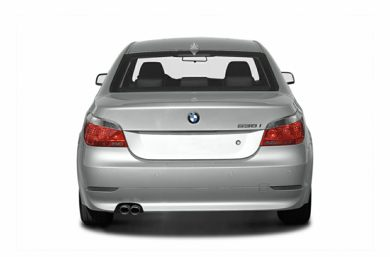 Rear Profile  2004 BMW 545