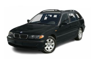3/4 Front Glamour 2004 BMW 325