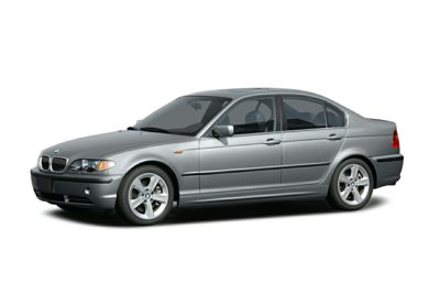 3/4 Front Glamour 2004 BMW 330