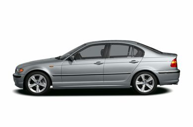 90 Degree Profile 2004 BMW 325