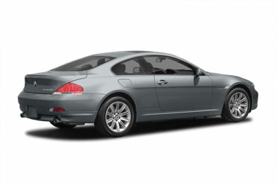 3/4 Rear Glamour  2004 BMW 645