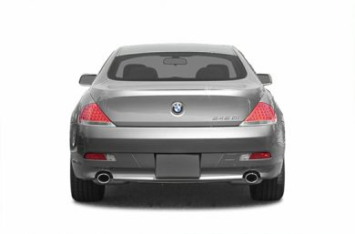 Rear Profile  2004 BMW 645