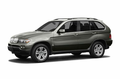 3/4 Front Glamour 2004 BMW X5