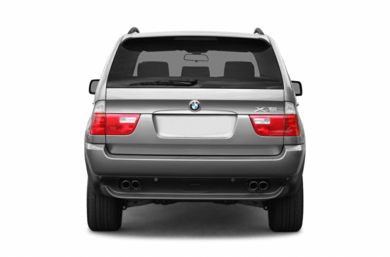 Rear Profile  2004 BMW X5