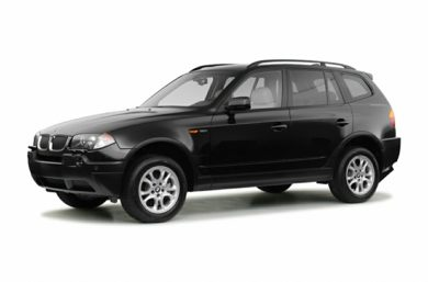 3/4 Front Glamour 2004 BMW X3