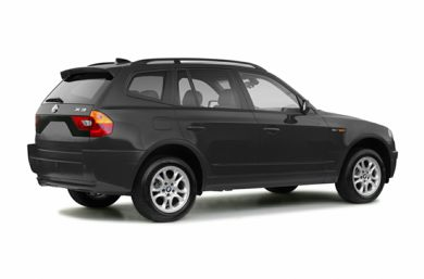 3/4 Rear Glamour  2004 BMW X3