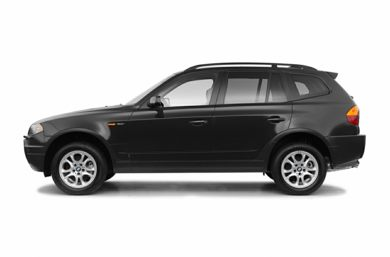 90 Degree Profile 2004 BMW X3
