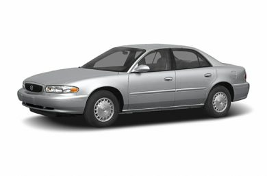 3/4 Front Glamour 2004 Buick Century