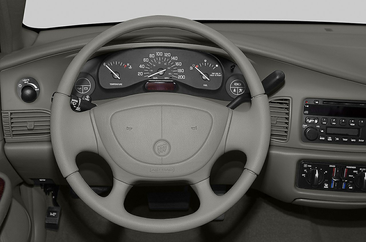 Steering Wheel  2004 Buick Century