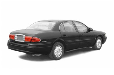 3/4 Rear Glamour  2004 Buick LeSabre