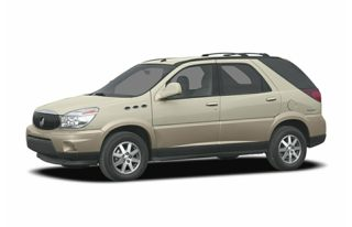 3/4 Front Glamour 2004 Buick Rendezvous