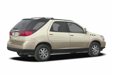 3/4 Rear Glamour  2004 Buick Rendezvous
