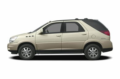90 Degree Profile 2004 Buick Rendezvous
