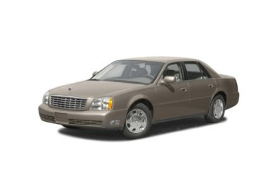 3/4 Front Glamour 2004 Cadillac DeVille