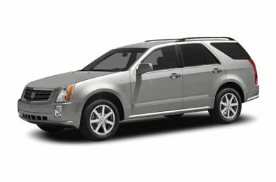 3/4 Front Glamour 2004 Cadillac SRX