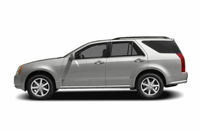 90 Degree Profile 2004 Cadillac SRX